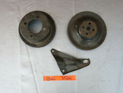 1969-1970 Ford Mustang Engine Pulley Water Pump Crank Brackets 302 351c 3522