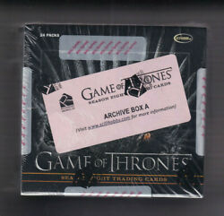 Game Of Thrones Season 8 - Winner Gets One 1 Factory Sealed Archive Box