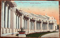 1909 Alaska-yukon-pacific Exposition Colonnade Agricultural Building Seattle