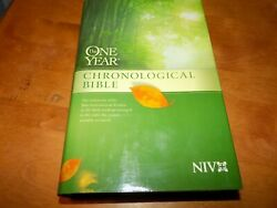 One Year Chronological Bible Niv Daily Reader 1 Year New International Version