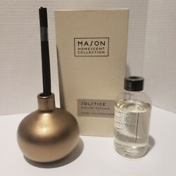 Pottery Barn Solstice Diffuser Mason Homescent Collection Sealed Fab Fit Fun