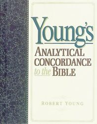 Youngs Analytical Concordance To The Bible By Young, Robert Hardback Book The
