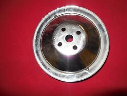 1965 - 1966 Corvette Chevelle 396 427 Deep Groove Water Pump Pulley 3864480 Gm