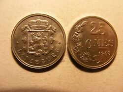 Luxembourg 1963 25 Centimes, Choice Uncirculated, Km45a.1