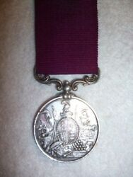 Army Long Service And Good Conduct Medal, Victorian, 2nd Type To 52nd Regiment