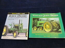 Two Cylinder John Deere Buyer's Guide Vintage And Early History 2 Book Lot A81
