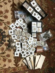 Us Coin Collection Sets - Silver Coins - Ngc / Pcgs - Proof Sets - 2 Wheat Rolls