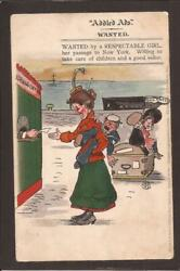 G.fyffe Christie. Addled Ads Comic. Wanted By Respectable Girl.. Misch And Stock
