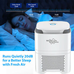 Air Purifiers True Hepa Filter - Air Cleaner For Home, Smokers, Allergies, Dust