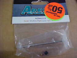Ares-rc Brand Azsh1113 = Outer Shaft And Main Gear Umcx New
