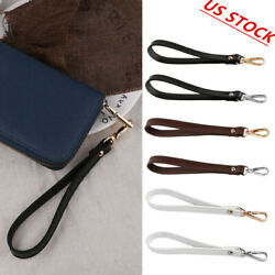 Genuine Leather Wrist Strap With BuckleHands Free Wristlet for Purse Wallets USA $4.99
