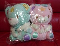 Sanrio Little Twin Stars Puff Poff Limited Bear Plush Doll With Cape Set Of 2