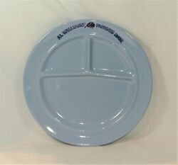 Al Williamand039s Papagayo Room Divided Plate Fairmont Hotel Tepco Restaurant Ware