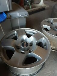 Vintage Gmc Rims--hard To Find--5 On 5 15 X 7. Great Unique Look