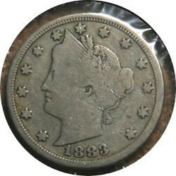 Elf Liberty Five Cents 1883 With Cents
