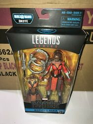 Marvel Legends Nakia Black Panther Okoye BAF NEW 6 INCH