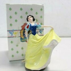 Snow White And The 7 Dwarfs Schmid Musical Figurines New