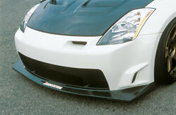 N-spec Front Bumper For The Nissan 350z By Ings