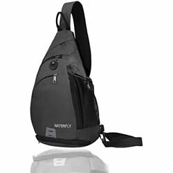 Sling Backpack WATERFLY Bag Small Crossbody Daypack Casual Chest Rucksack For $32.34