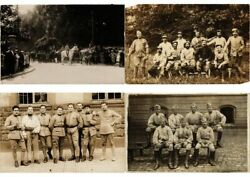 Military 1000 Vintage Postcards Mostly Pre-1940 With Real Photo In Box L2562