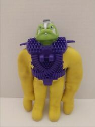 Vintage Very Rare Yellow Vacman Stretch Armstrong Enemy With Green Head And...