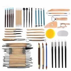 Pottery Clay Sculpture Tool Indentation Silicone Pen Sculpture Knife Set Cakes