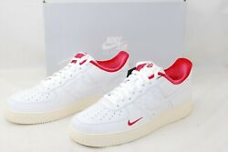 Brand New Kith X Nike Air Force 1 Low Japan White Red Cz926-100 From Japan