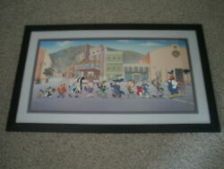 Warner Brothers Cel - Ap 29/75 - Looney Tunes On Parade - Rare Artists Proof