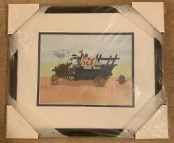 Disney Cel - Moving Day - Goofy Delivery - Sericel - Brand New