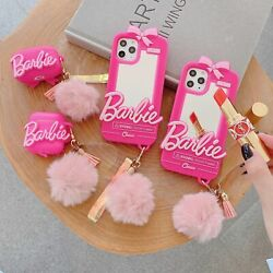 Cute Barbie Mirror AirPods Pro 1amp;2 Box Case Cover For iPhone 11 Pro 7 8 XS XR $19.99