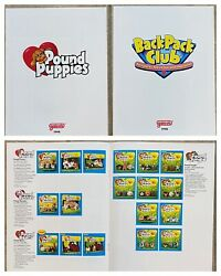 Galoob Fall 1998 Dealer's Guide Toy Catalogs Pound Puppies And Backpack Club