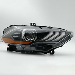 Customized Full Led Headlight Dual Beam For 18-20 Mustang Passenger Side