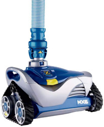 Robotic Automatic Suction In-ground Vacuum Robot Swimming Pool Cleaner W/ Hoses