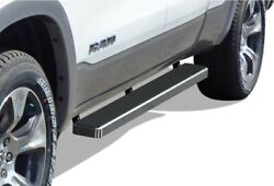 5-inch Silver Aluminum Running Boards Side Step For 19-20 Dogde Ram Quad Cab.