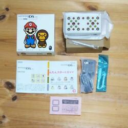 Ninteido Ds Lite A Bathing Ape Baby Mario Milo Boxed Limited Dhl F/s Tracking