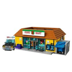 Building Blocks Sets The Simpsons Kwik E Mart Model 16004 Diy Kids Toys Gifts