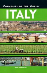 Italy Countries Of The World By Garrington, Sally Hardback Book The Fast Free