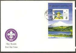 Antigua 1998 19th World Jamb Chile Boy Scouts Baden Powell Perf Ss Fdc