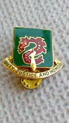 504th Military Police Battalion Pair Dui Di Insignia Crest Badges Pins Us Army