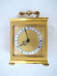 And Co Striking Carriage Clock. Large And Heavy. Large Vintage