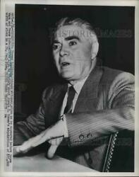 1952 Press Photo Thomas Sullivan Chicago Attorney Appearing House Ways And Means
