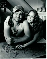 Catherine Bach And Ben Jones Signed Autographed The Dukes Of Hazzard Photo