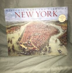 Historic Maps And Views Of New York Virga Frameable Maps 1st Edition