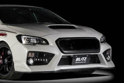 Blitz Front Bumper With Led Lights For The Subaru Wrx Sti/s4