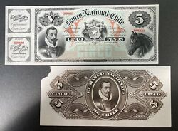 Chile Proof Banknote Front/back P S333