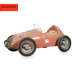 A Rare Pedal Car Made By Pines Italy C.1964