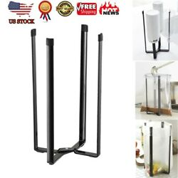 Home Tower Kitchen Multifunction Stand Plastic Bag Holder Cup Bottle Drain Rack