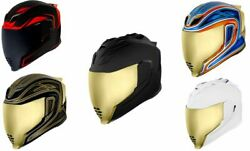 Icon Airflite Unisex Adult Motorcycle Riding Street Racing Full Face Helmet