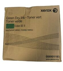 Xerox 6r01193 Hlc Green Dry Ink Toner For Docutech 128/155/180
