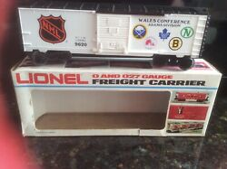 Lionel Trains 9620 Wales Conference Nhl Boxcar - New